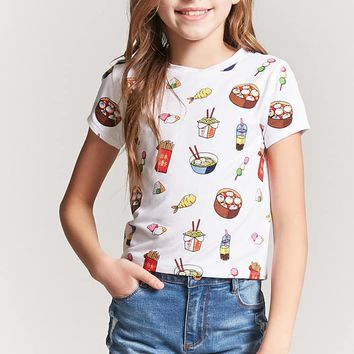 Girls Food Graphic Tee (Kids)