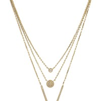 Sabrina Triple Strand Necklace