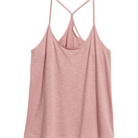 Tank Top in Slub Jersey - from H&M