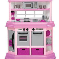 Plastic Toy Deluxe Custom Kitchen Oven Kids Fun Cooking Toddler Toys Fun New Fre