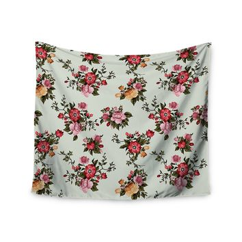 """Sunshine Floral"" Flowers Wall Tapestry"