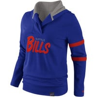 Buffalo Bills Nike Women's Play Action Hooded Top – Royal Blue