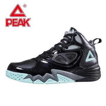 PEAK SPORT Men Basketball Shoes Breathable Athletic Training Sneaker FOOTHOLD Tech Rubber Outsole Ankle Boots Basket Homme