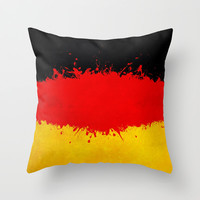 Germany Throw Pillow by Nicklas Gustafsson
