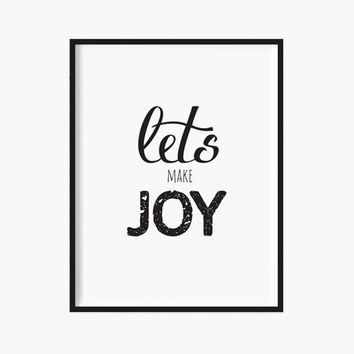 HOLIDAYS Christmas Decor Holiday Print Christmas decorations JOY print Quote art Holiday Gifts merry Christmas Typography Modern decor xmas