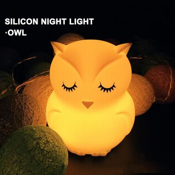 The Guardian Owl Night Lamp