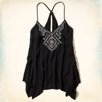 Asymmetrical Shine Tunic Tank