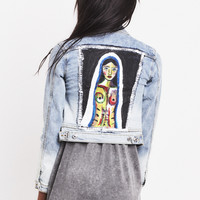 Womens Crop Madonna Jacket