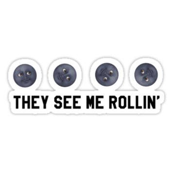 They See Me Rollin' Black Moon Emoji Trendy/Hipster/Tumblr Meme by Vrai Chic