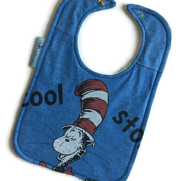 Cat in the Hat Bib Dr. Suess Baby Gift