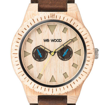 WeWOOD Leo Leather Beige - Maple