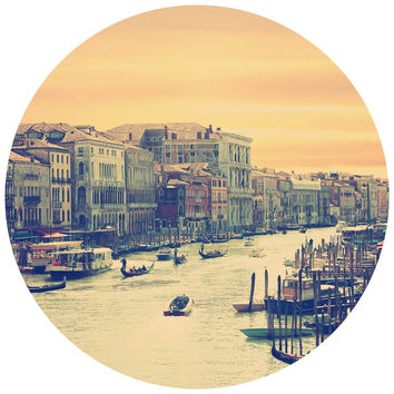Venice Circle Wall Decal