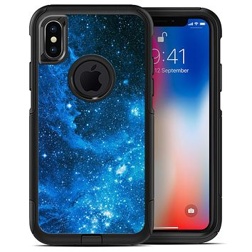 Blue Hue Nebula - iPhone X OtterBox Case & Skin Kits
