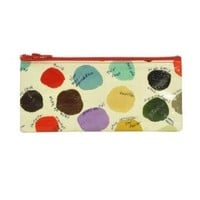 Blue Q Color Palette Pencil Case