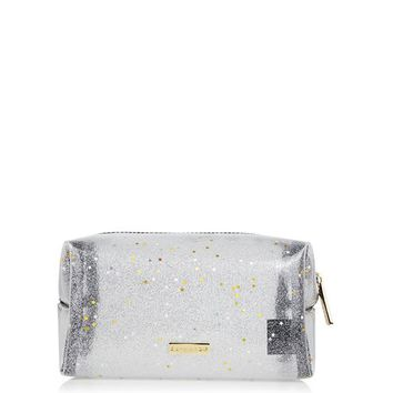 **Sky Glitter Make Up Bag by Skinnydip
