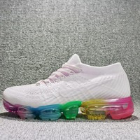 Best Deal Online 2018 Nike Air Max VaporMax Flyknit Men Women Running Shoes rainbow