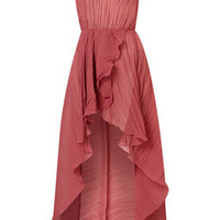 Crinkle Asymmetric Maxi by Love** - Dresses  - Clothing  - Topshop