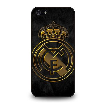 REAL MADRID GOLD iPhone 5 / 5S / SE Case Cover