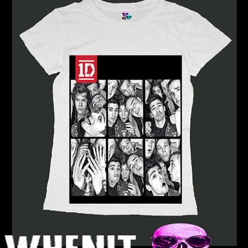 one direction 1D exclusive hand print swag women t by voguecraze