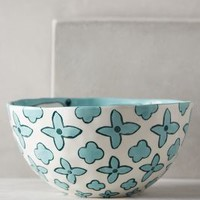 Gloriosa Serving Bowl by Anthropologie Mint