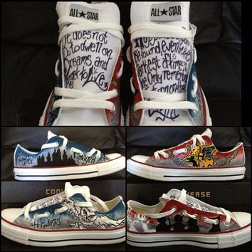 Hand-painted Custom Adult Chucks/Converse- Make your own design