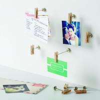 Pinch Photo Display, Set of 9