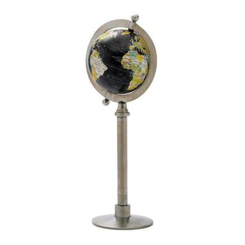 Globe On Straight Stand