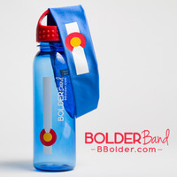 Colorado Water Bottle and Colorado Bolder Band 2 Pack Set