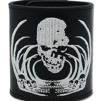 Skull Logo - Leather Wristband - Death Note