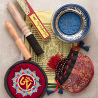 Medicine Buddha Singing Bowl Gift Box