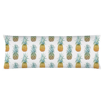 Pineapple Purist Body Pillow