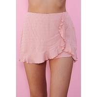Ruffle Around Skort (Mauve)