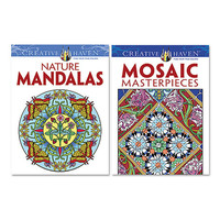 Creative Haven Mosaic & Mandalas Coloring Book Set | zulily