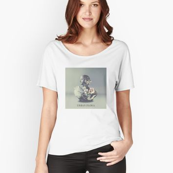 """Alina Baraz & Galimatias - Urban Flora"" Womens T-Shirt by foxesmate4life 