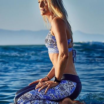 Indigo Shores Strappy Bikini | Athleta