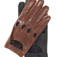 Men's Italian Lambskin Driving Gloves By Fratelli Orsini Everyday | Free USA Shipping at Leather Gloves Online