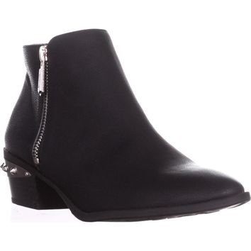 Circus by Sam Edelman Holt Spiked Heel Ankle Boots, Black, 7.5 US / 37.5 EU