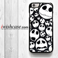 Jack Skellington Nightmare for iPhone 4 4S 5 5S 5C 6 6 Plus , iPod Touch 4 5  , Samsung Galaxy S3 S4 S5 S6 S6 Edge Note 3 Note 4 , and HTC One X M7 M8 Case