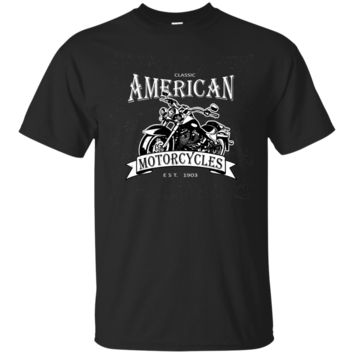 Classic American Motorcycles Novelty T Shirt