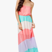 A'GACI Pretty Pastels Colorblock Maxi - New Arrivals