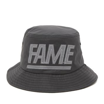 Hall of Fame 3M Block Bucket Hat - Mens Backpack - Black - One