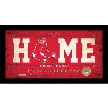 Boston Red Sox 10x20 Home Sweet Home Sign