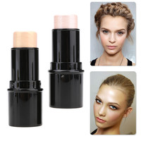 New Shimmer Stick Highlighting Concealer Cream Powder Waterproof Shimmer Lighting Silver/ Gold
