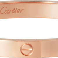 LOVE bracelet: LOVE bracelet, 18K pink gold. Sold with a screwdriver.