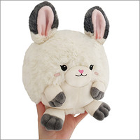 Mini Squishable Snow Bunny: An Adorable Fuzzy Plush to Snurfle and Squeeze!