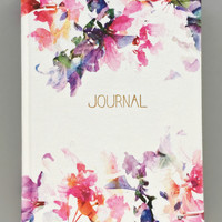 Pastel Floral Cotton Journal