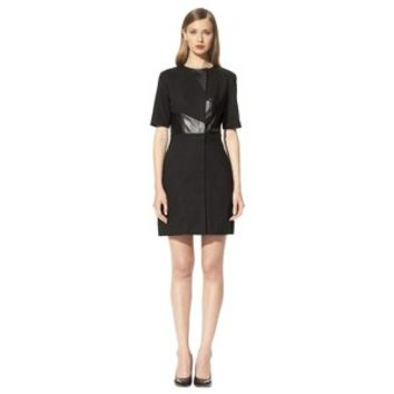 3.1 Phillip Lim for Target® Dress with Faux Leather -Black