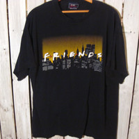 "Vintage ""Friends"" T-Shirt, Size XL. 1995. Friends Television Show. In great condition!"