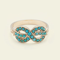 Bow Ring (Turquoise)
