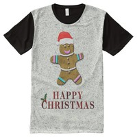Gingerboy All-Over Print T-Shirt